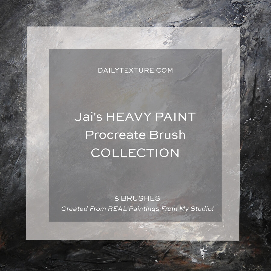Jai's Heavy Paint Procreate Brush Set
