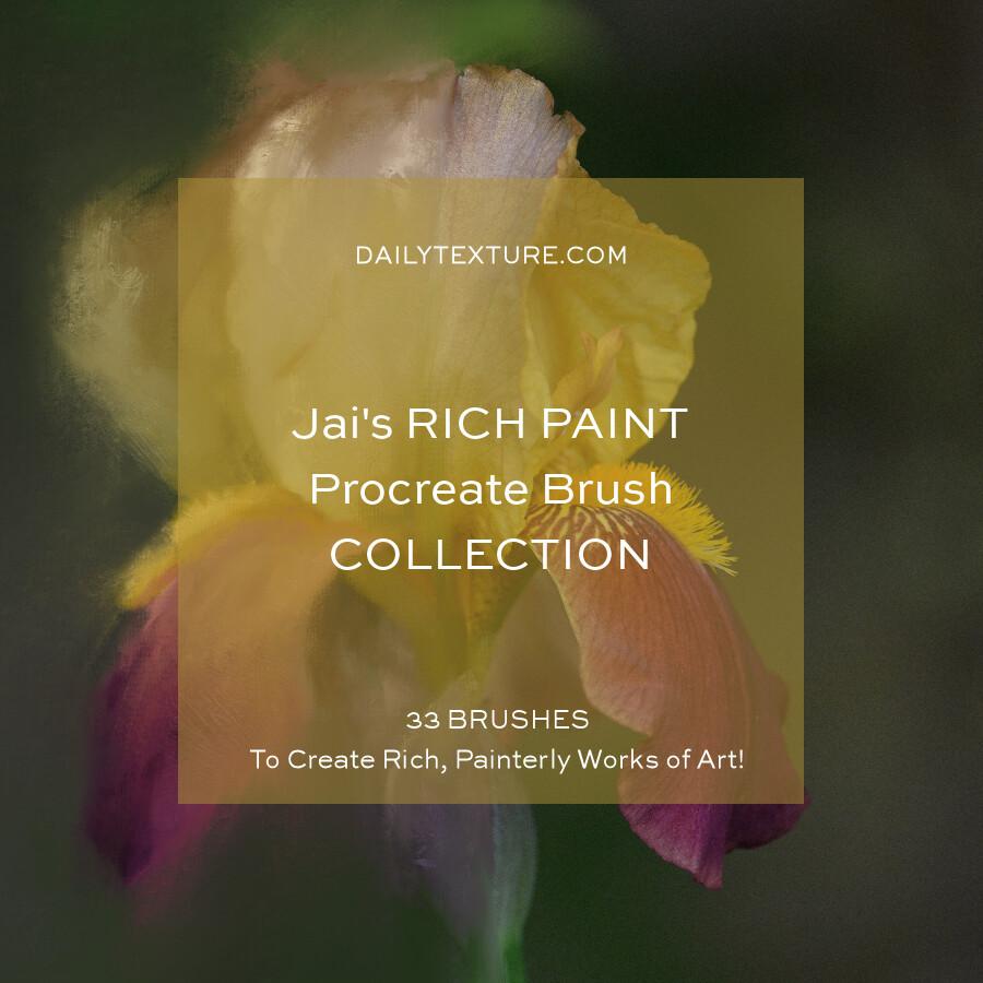 Jai's Rich Paint Procreate Brush Set