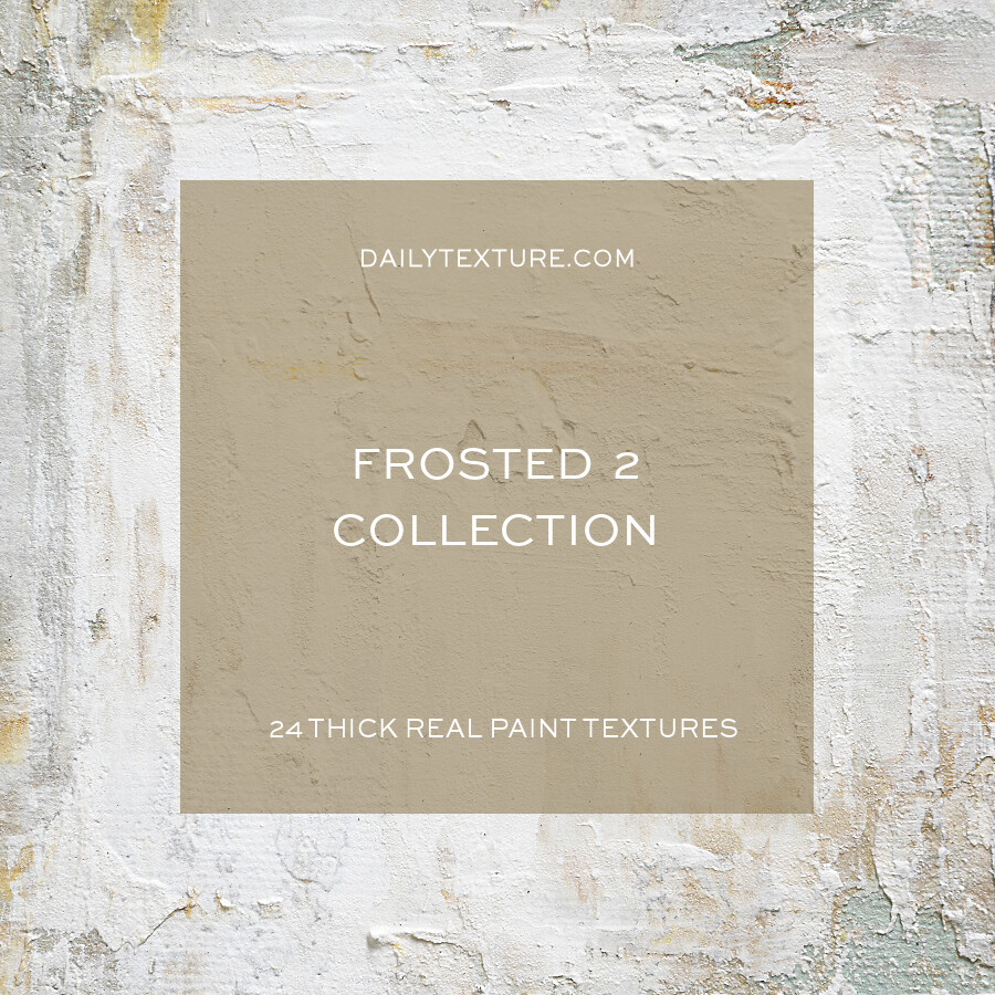 Frosted 2 Texture Collection