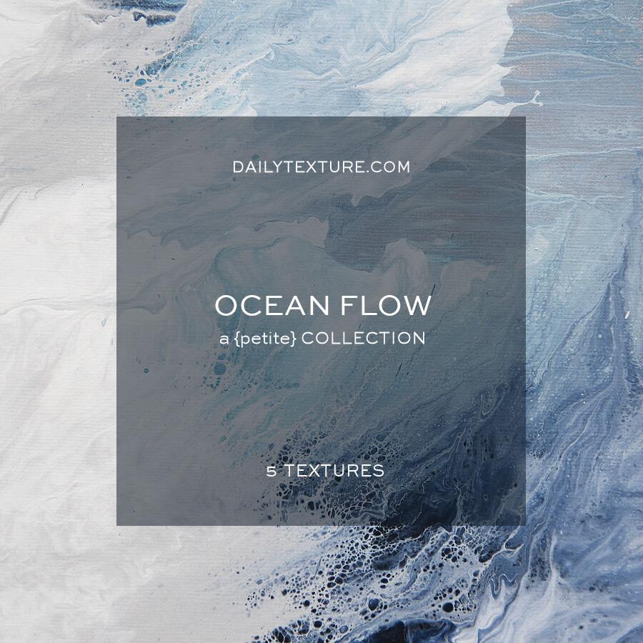 Ocean Flow - A Petite Texture Collection
