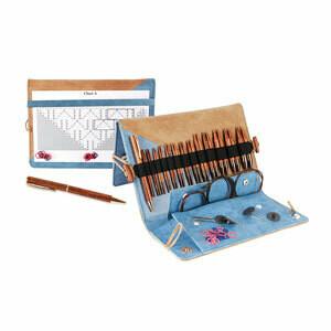 "Knitter's Pride - Ginger - 4.5"" Interchangeable Needle Set Deluxe"