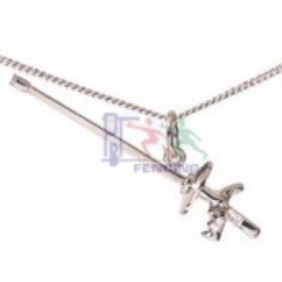 Fencing Necklace FOIL