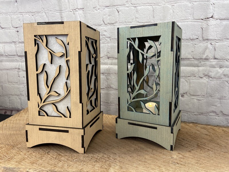 Valentine's Day Series! Laser Cut Lantern Set