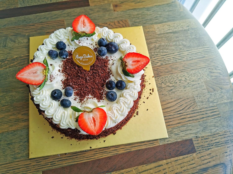 Keto Black Forest Cake