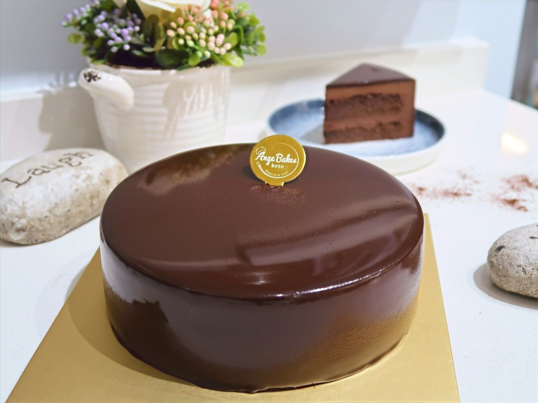 Keto All Chocolate Cake