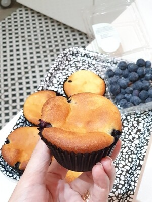 Keto Blueberry Muffins (Box of 6)