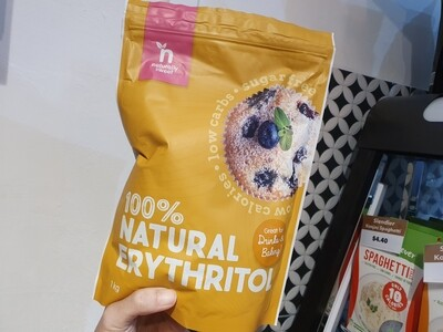 Naturally Sweet 100% Erythritol, 1 Kg