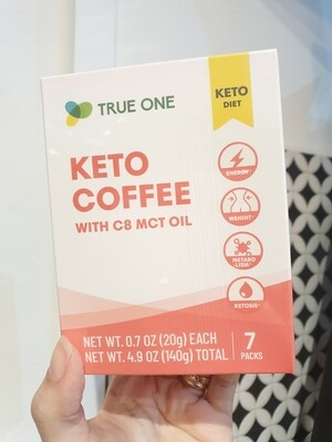 True One - Keto Coffee, 20g x 7 packs