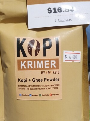 Kopi Keto Kopi Krimer (Coffee powder)