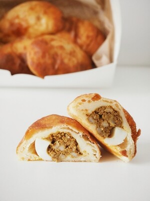 Keto Chicken Curry Puff (Box of 6)