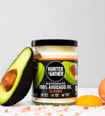 Hunter & Gather Classic Avocado Oil Mayonnaise, 175g