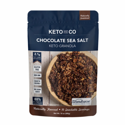 Keto And Co Keto Granola - Assorted flavours, 285g