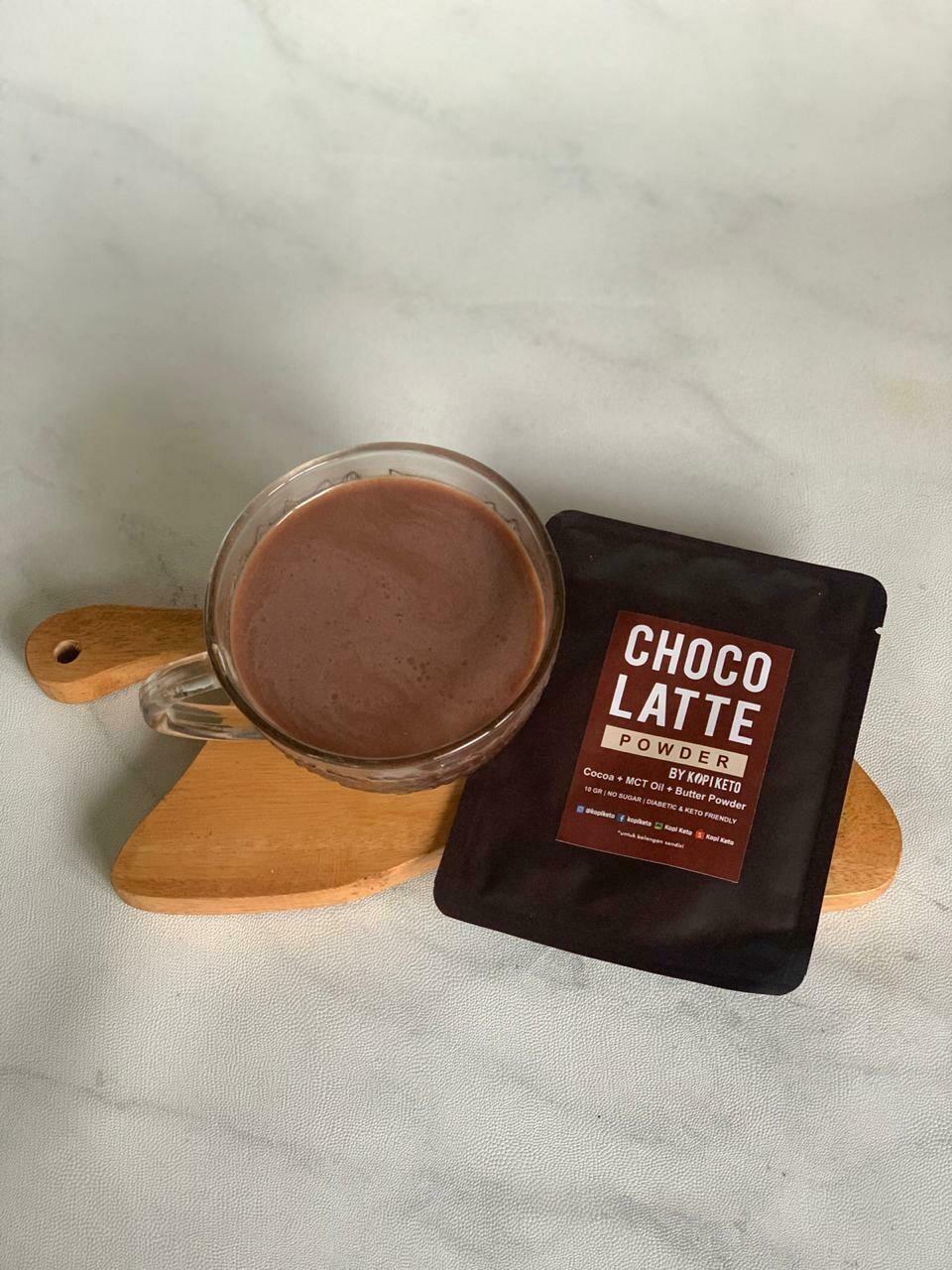 Kopi Keto Choco Latte