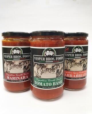 Vesper Bros Foods Signature Tomato Sauce
