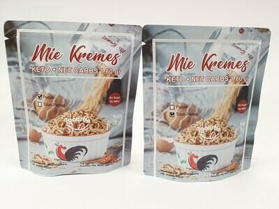 Locarbs Keto Mie Kremes (Crispy Noodles) 30g