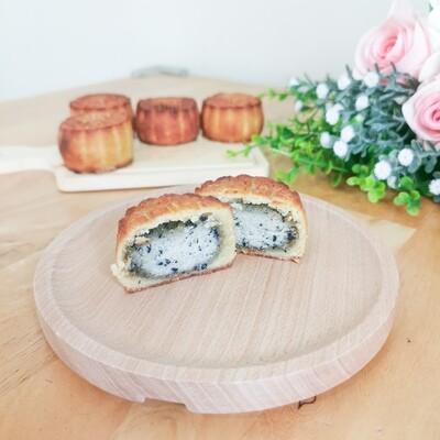 Keto Mini Mooncake - Black Sesame