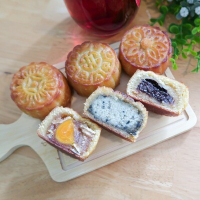 Keto Mini Mooncake - Assorted Box