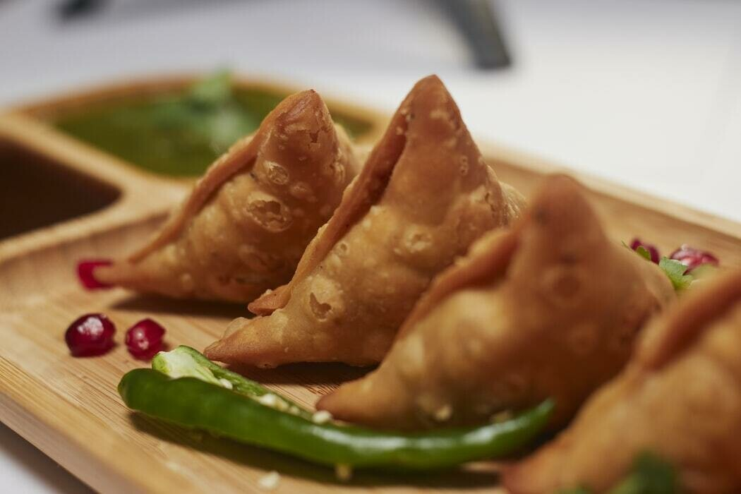 Frozen Samosa in a pack of 10 pieces
