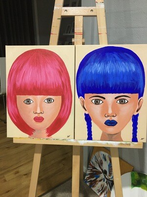 BRIGHT HAIRED GIRLS