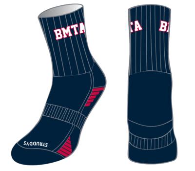 BMTA Mustangs Socks Crew