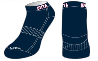 BMTA Mustangs Socks Ankle