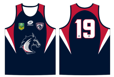 BMTA Mustangs Playing Singlet Womens/Girls ONLY