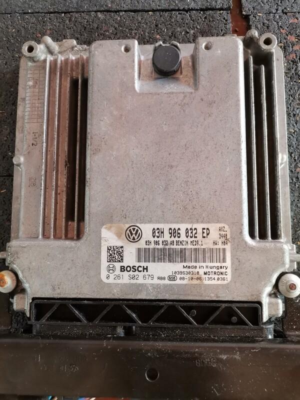 VW TOUAREG (BHK)  ECU/ECM 03H 906 032E, 03H906032E, 03H-906-032E