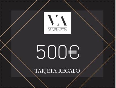 Tarjeta regalo 500€