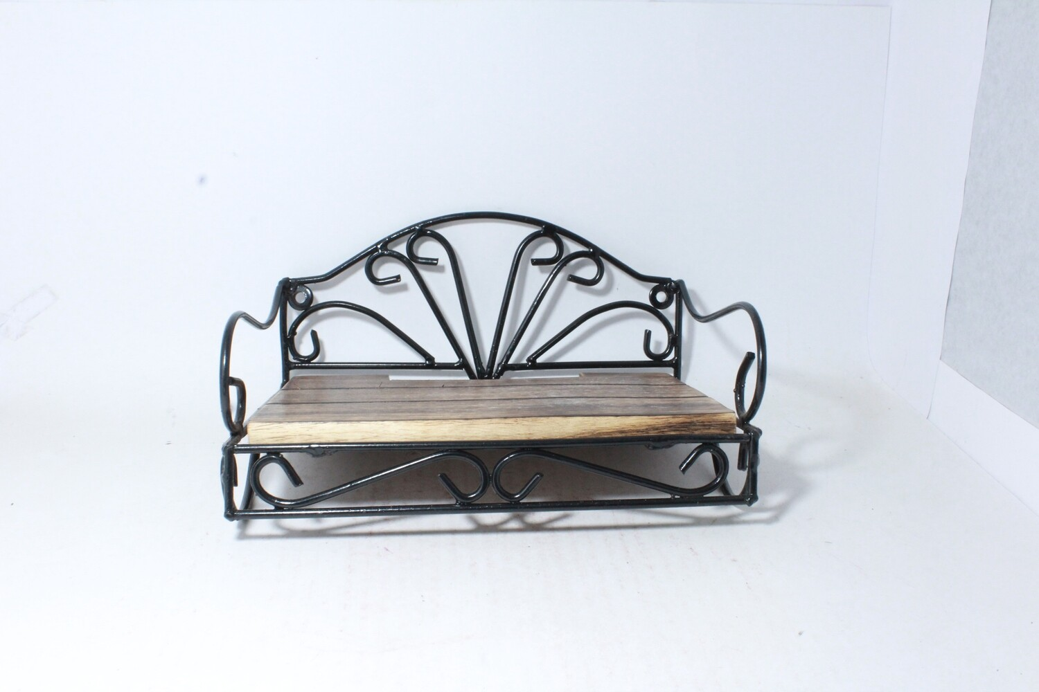 Antique look Wooden and Iron Set top box holder | Unique Gifts for your self and for your love ones