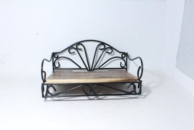 Antique look Wooden and Iron Set top box holder   Unique Gifts for your self and for your love ones