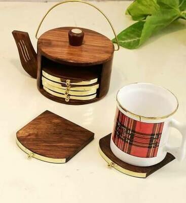 Amazing Cattle Shaped Tea Coaster