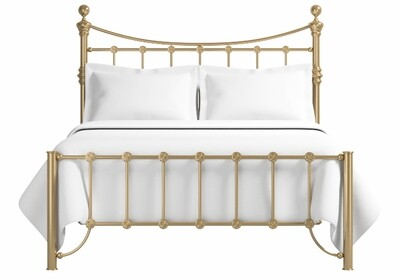 Amazing Antique look low footend Clyde Brass Bed