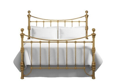 Amazing Antique look Clyde brass finish bedstead