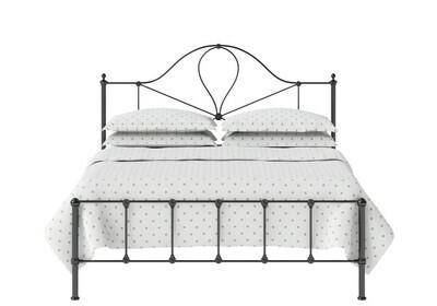 Stunning look Iron Metal Minerva Low Footend Bed