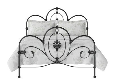 WOW look Iron Metal Mayo Bedstead