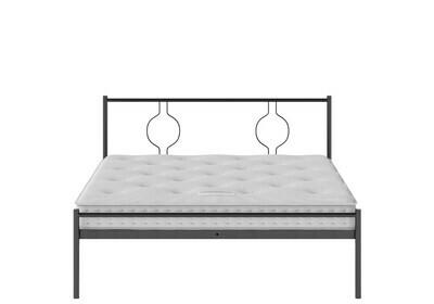 Stunning look Iron Metal Toromeiku Bed