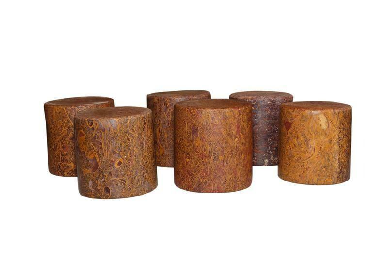 Fossil Habur Stone Glass Set of 6 ( 100% Authentic ) Exclusive Jaisalmer