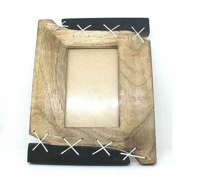 Photo Frame Single Leather Look Unique Design