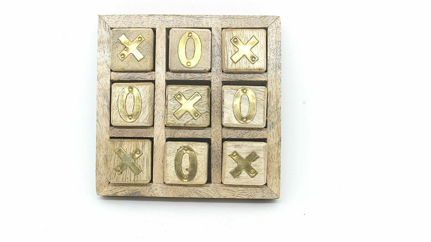 Tick Toc Game | Antique Wood Game