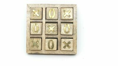 Tick Toc Game   Antique Wood Game
