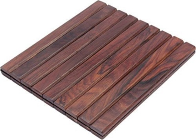 Rollable Table Mat Set Of 2 Wooden Placemats