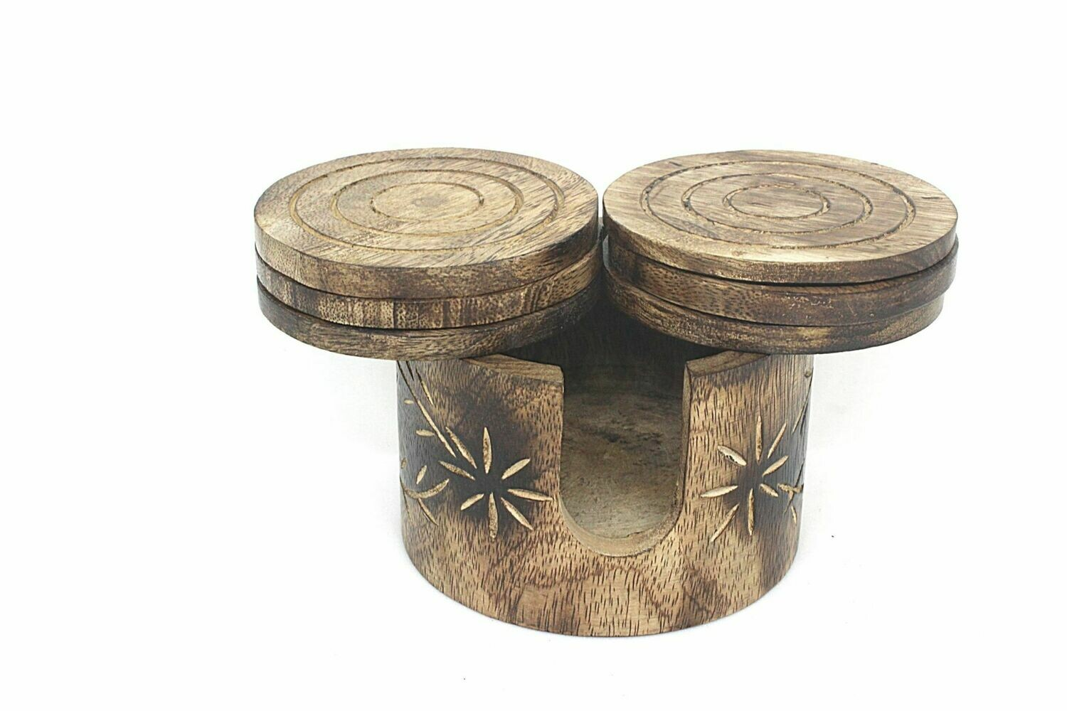 Hand Crafted Wooden Coasters || Tea || Coffee Mugs || Beer Cans || Bar Tumblers || Water Glasses