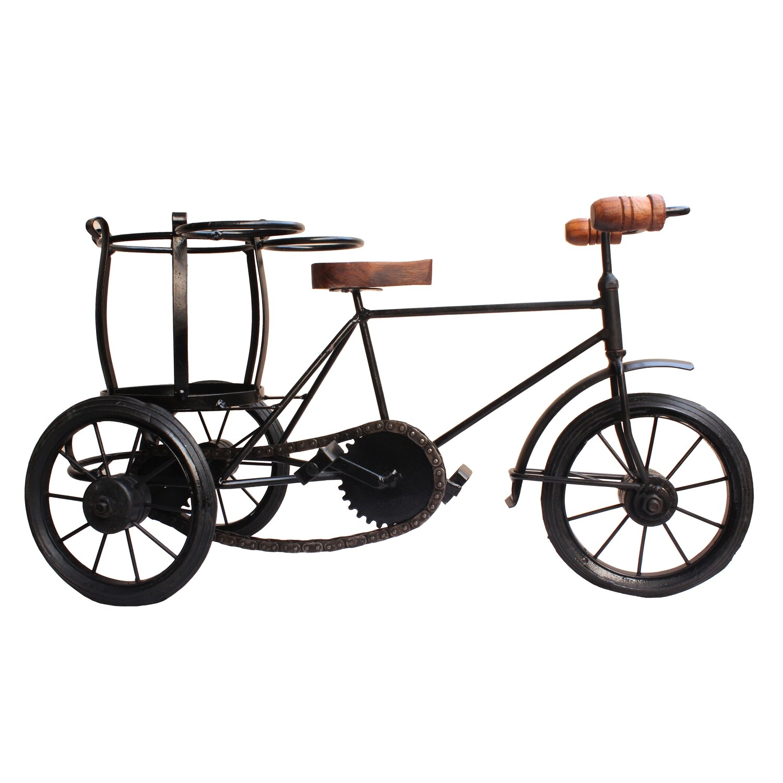 Rickshaw Bottle Cart   Wine Bottle holder