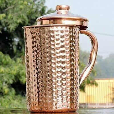 Pure Copper Water Jug | Get Ayurveda Health Benefit | Copper Pitcher