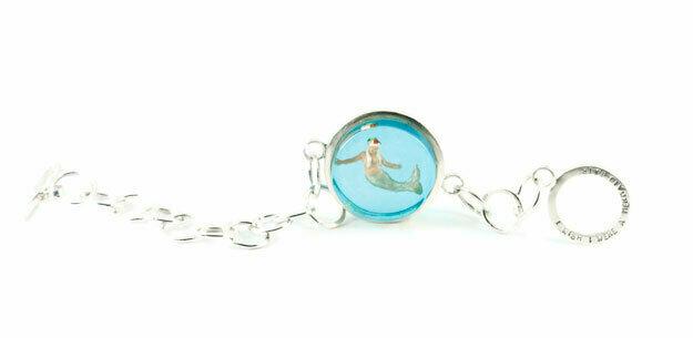 I wish I were a mermaid bracelet