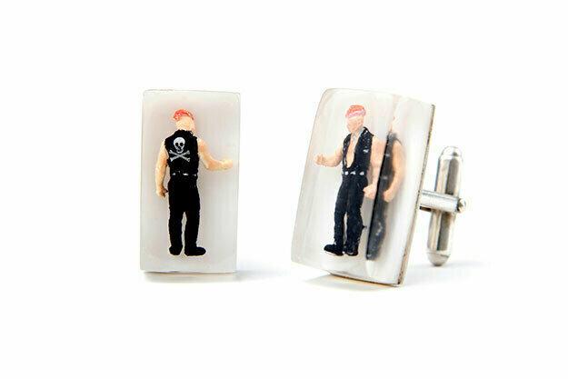 Punk cufflinks