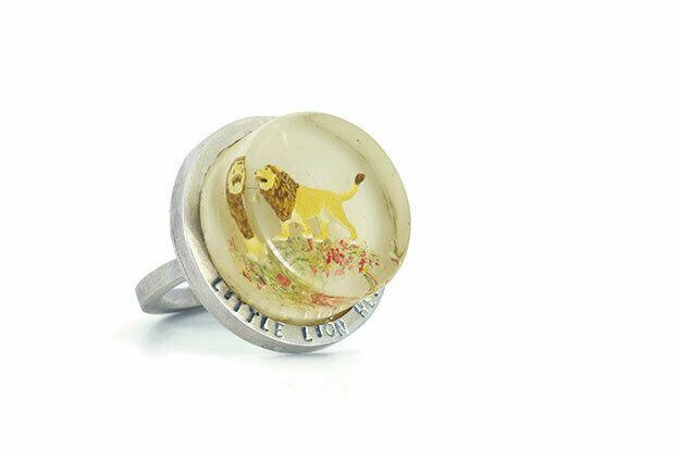 Little lionheart disk ring