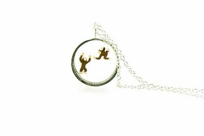 Monkeying around necklace