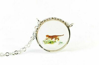 Necklace, Easy Tiger (large disk)