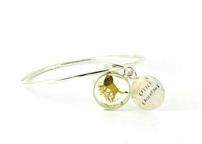 Little lion heart bangle